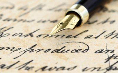 Iubim scrisul de mână!