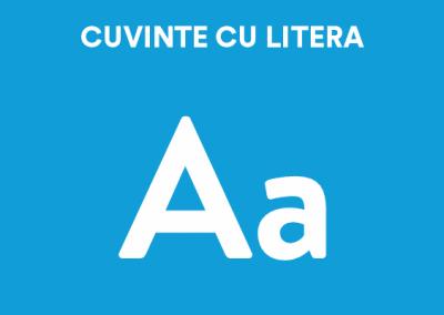 Cuvinte cu litera A