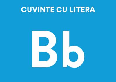 Cuvinte cu litera B