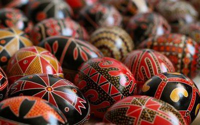 Ouăle încondeiate de Paști